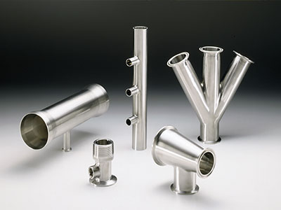Customized skids for hygienic applications