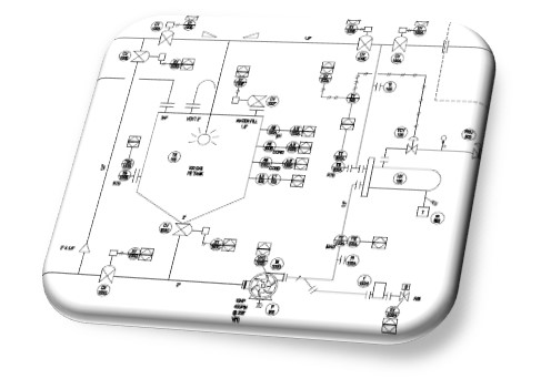 CIP drawing typical of the systems we design
