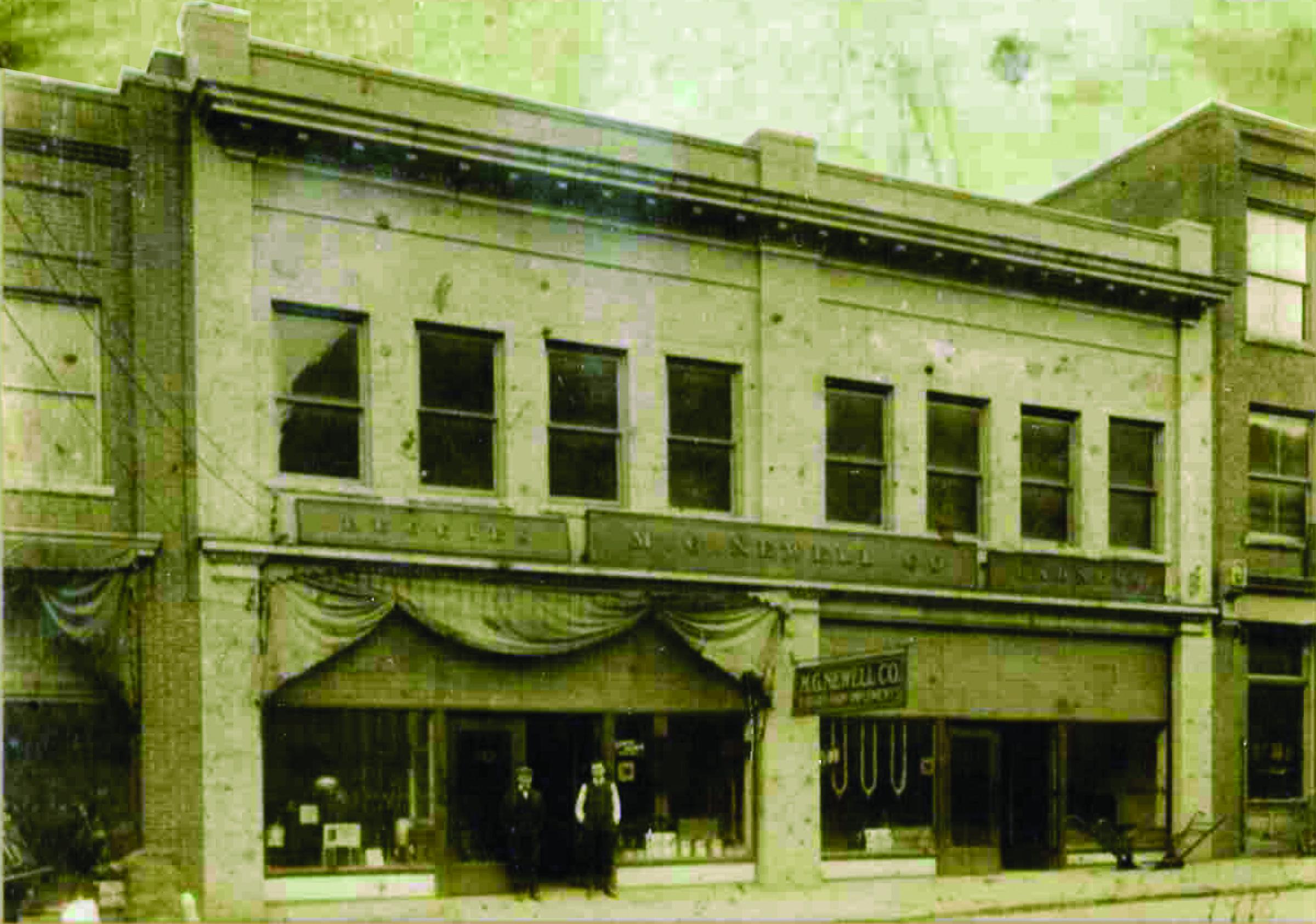 MGN original building
