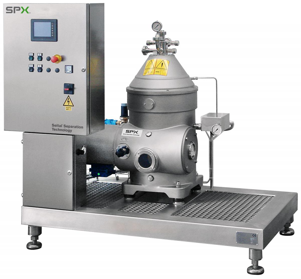separator with systems controls