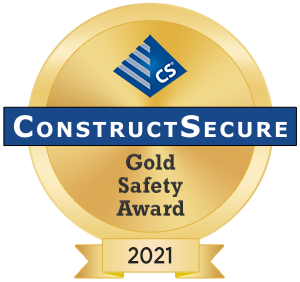 CS Gold Safety award 2021